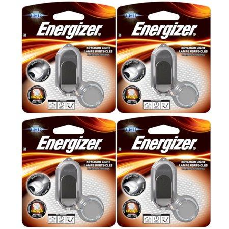 4 Pack Energizer - LED Key Chain - Led Light Key Chain