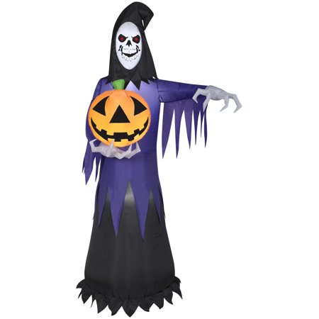 7' Airblown Reaper Halloween Inflatable