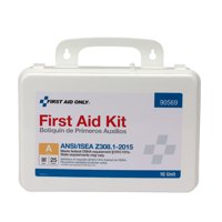 First Aid Only 82 Piece Plastic First Aid Kit, ANSI Compliant