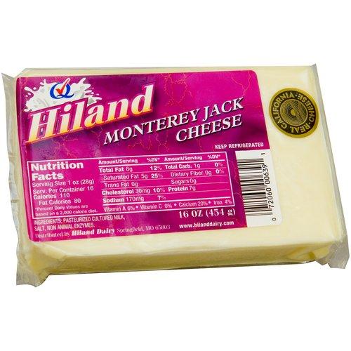 Hiland Monterey Jack Cheese, 16 oz