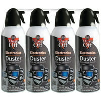 Dust-Off Disposable Electronics Duster, 10 oz, 4 Pack