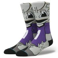 TCU Horned Frogs Stance Mascot Crew Socks