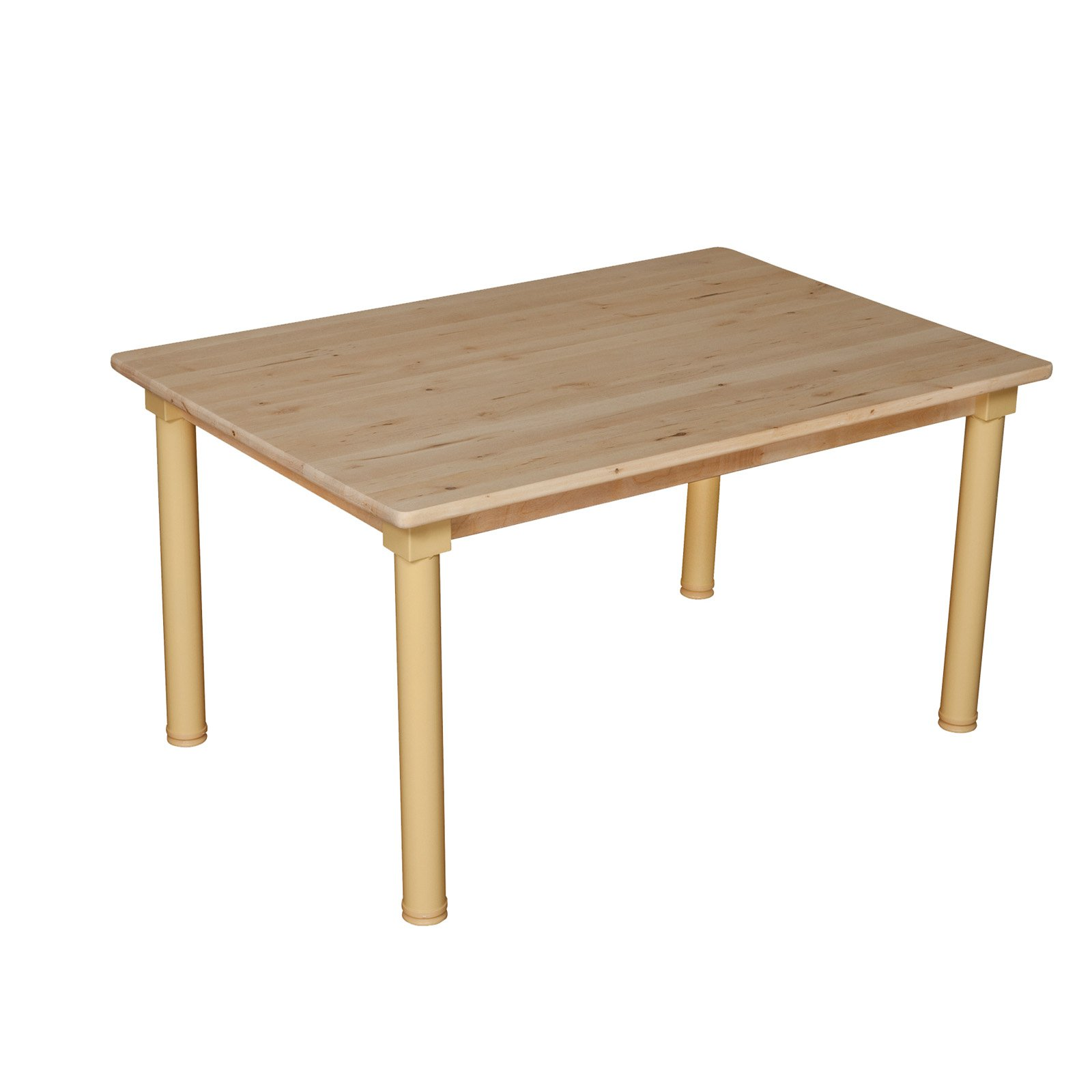 Wood Designs Rectangle 24 x 48 in. Adjustable Table