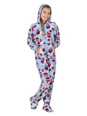 5de86540e996 Footed Pajamas Little Girls One-piece Pajamas - Walmart.com