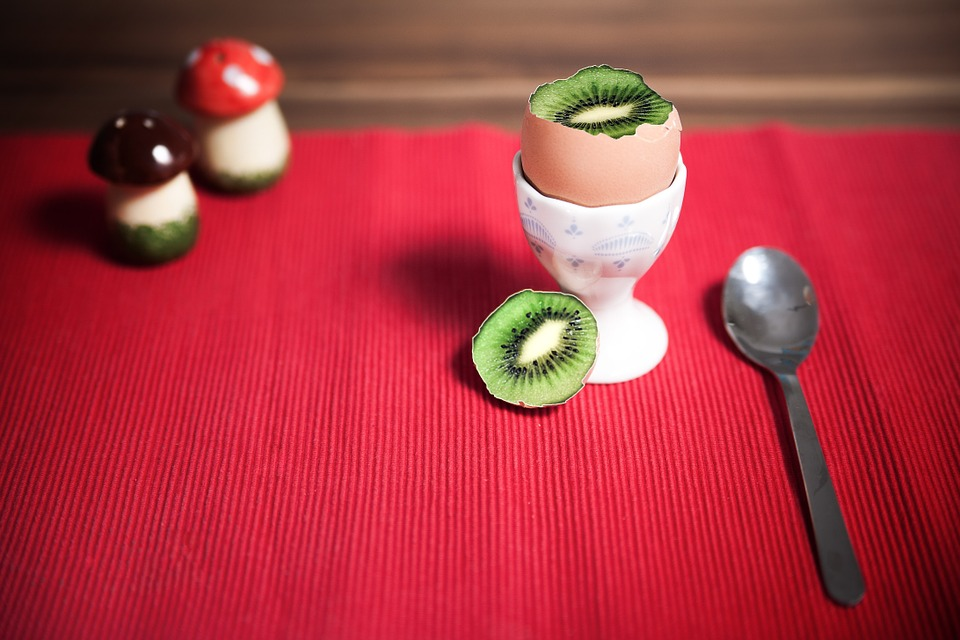 Canvas Print Salt Kiwi Cup Pepper Saltzstreuer Egg Cups Stretched Canvas 10 x 14 by
