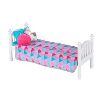 """My Life As Stackable Doll Bed for 18"""" Dolls, 6 Pieces"""