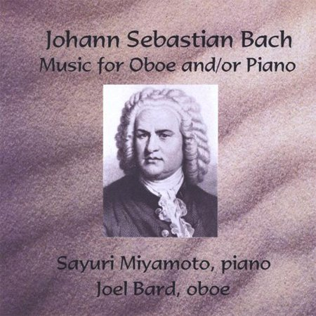Johann Sebastian Bach Music for Oboe & Piano (CD)