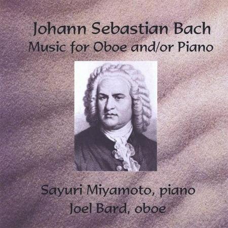 Johann Sebastian Bach Music for Oboe & Piano (CD) ()