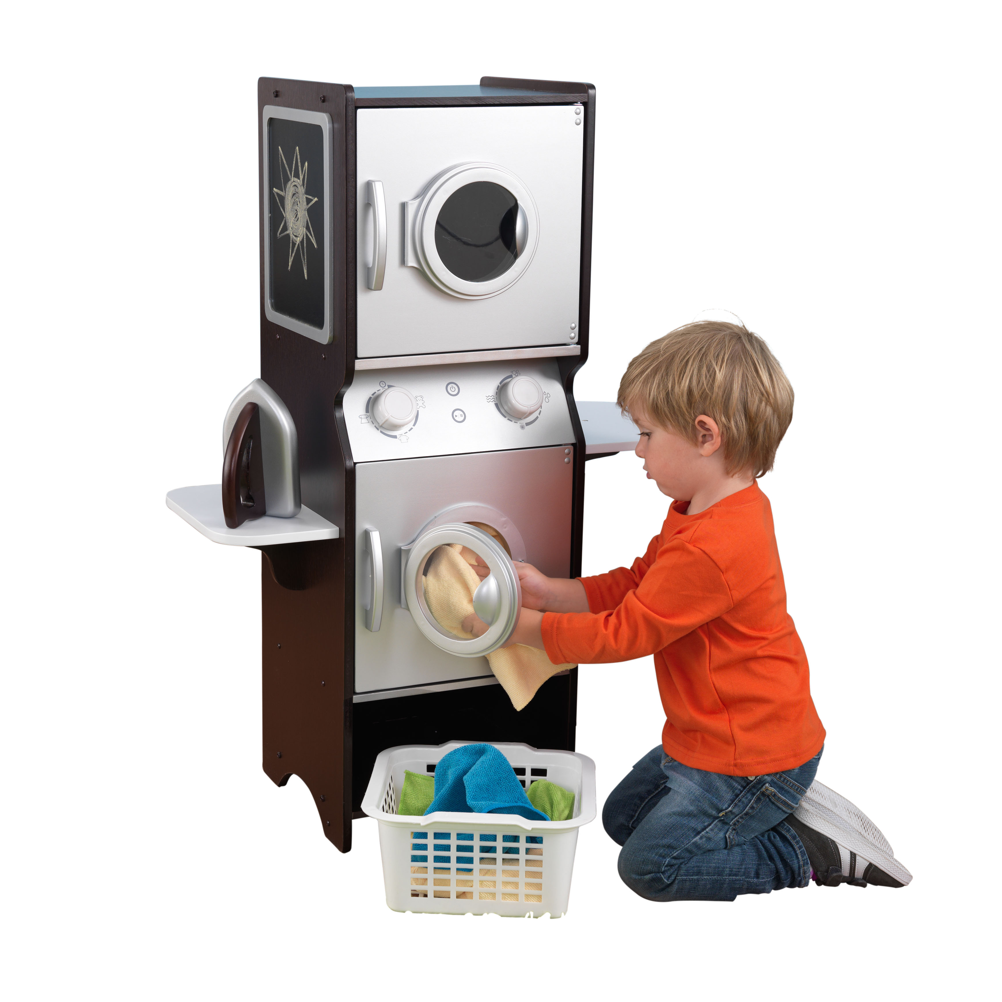 KidKraft Laundry Play Set Espresso by KidKraft