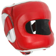 Ringside Deluxe Face Saver Boxing Headgear Large/XLarge Red
