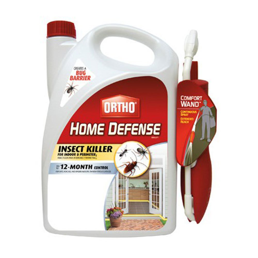 Ortho Home Defense Max Indoor & Perimeter Insect Killer w/ Wand, 1.1 Gallon