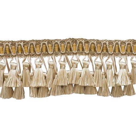 5 Yard Value Pack of Elaborate Ivory, Light Beige 3