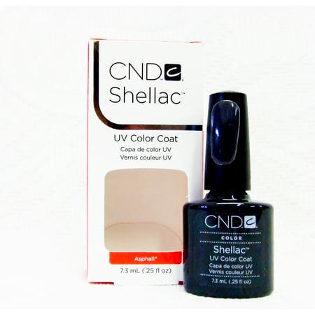 CND Shellac Nail Gel Polish Asphalt .25oz/7.3mL