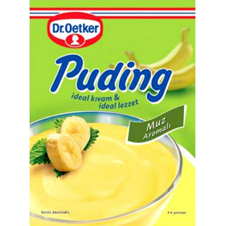 - Dr. Oetker Banana Pudding – 4oz