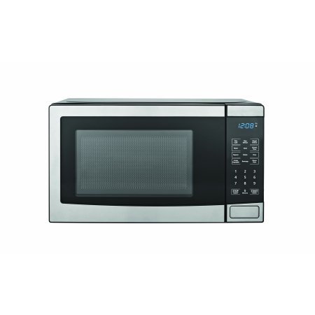 Mainstays 0 7 Cu Ft Microwave Oven Stainless Steel