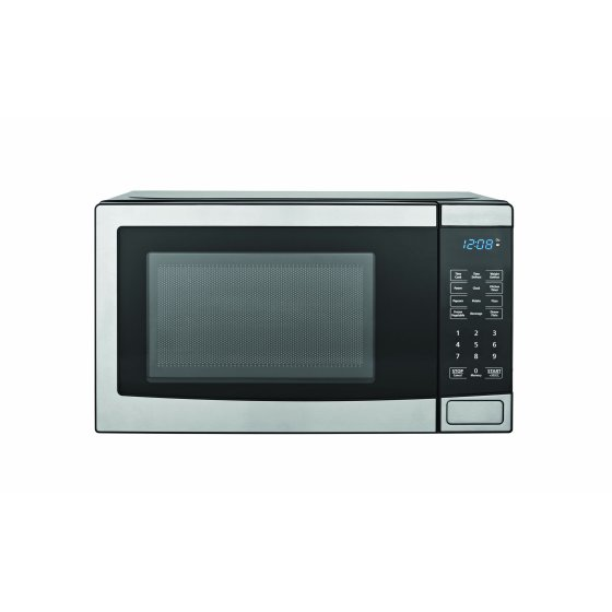 Walmart Microwave Ovens ~ Mainstays cu ft microwave oven stainless steel