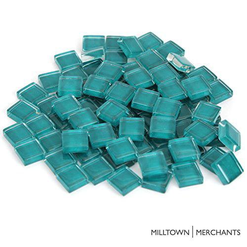 Milltown Merchants Mosaic Tile 1 Pound, Black - 4//10 Inch