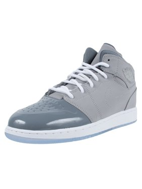 d99285eb60c1 Product Image NIKE AIR JORDAN 1 RETRO 95 GS MEDIUM GREY WHITE COOL GREY  628620 003