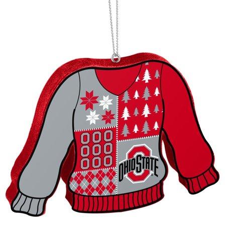 Ohio State Ugly Christmas Sweater.Ohio State Buckeyes Ugly Sweater Ohio State Christmas