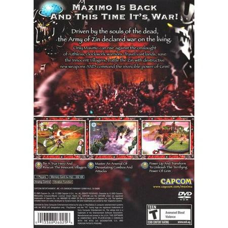 Maximo vs Army of Zin - PlayStation 2 (Marvel Vs Capcom 2 Ps2)
