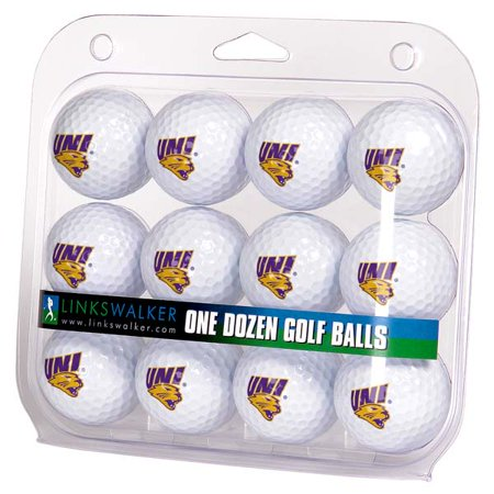 Northern Iowa Golf (LinksWalker Northern Iowa Panthers Golf Balls, 12)