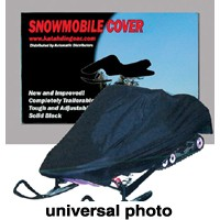 Katahdin Universal Snowmobile Cover SM Black