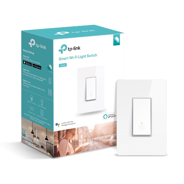TP-Link HS200 In-Wall Smart Switch, No Hub Required