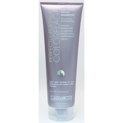 Shampoo-Colorflage Perfectly Platinum Giovanni 8.5 oz Liquid