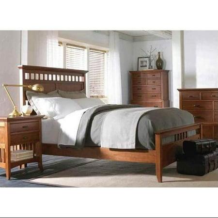 Cresent Modern Shaker Slat Panel Bedroom Set 3697 Product Photo
