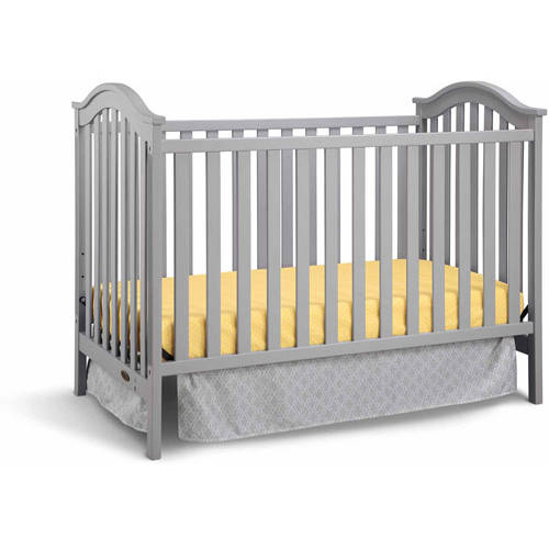 Graco Ashland Classic 3 in 1 Convertible Crib Pebble Gray