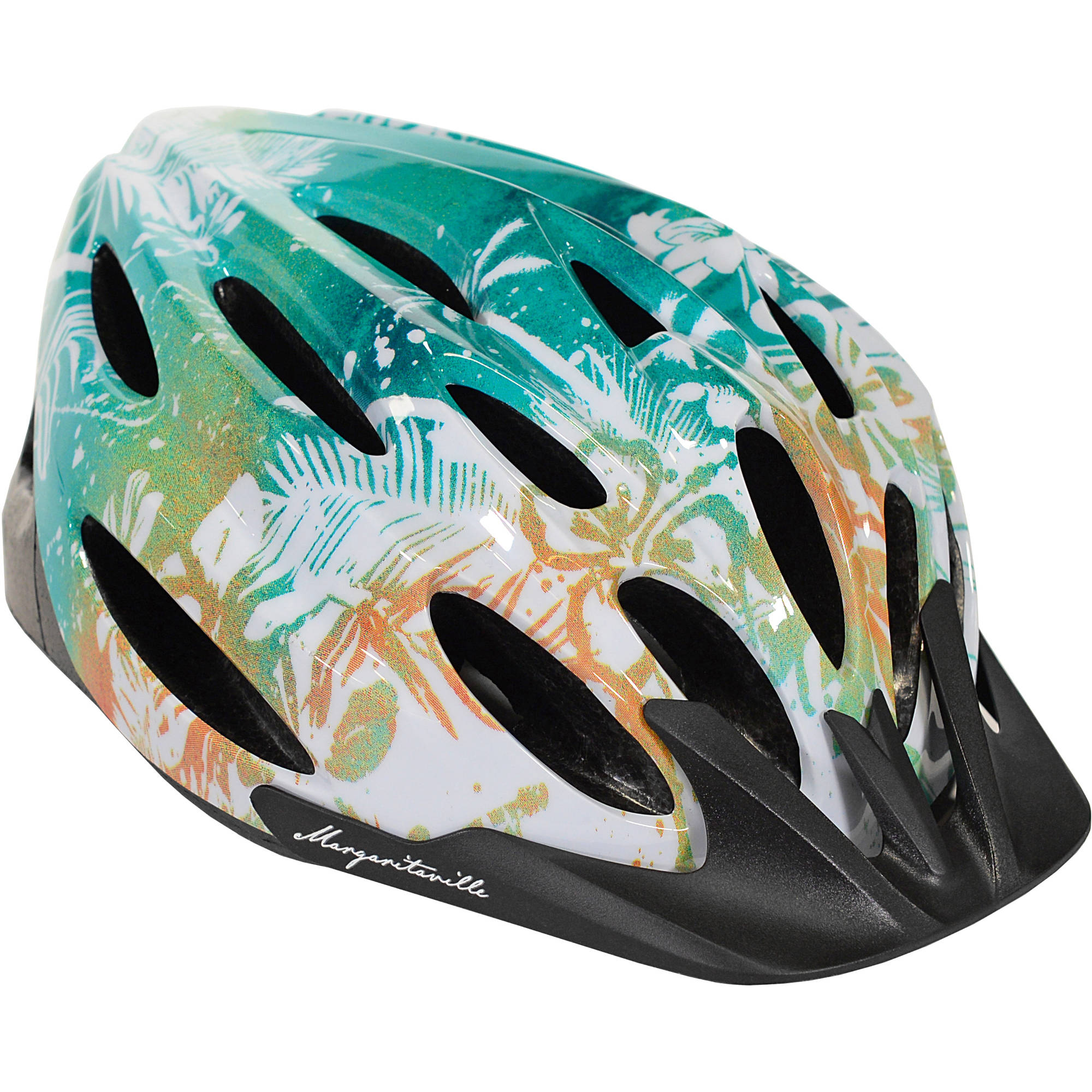 Margaritaville Adult, Multi-Sport Helmet, Multi-Color