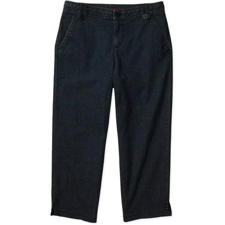7e47d8c1833 White Stag - White Stag - Women s Capri Jeans - Walmart.com