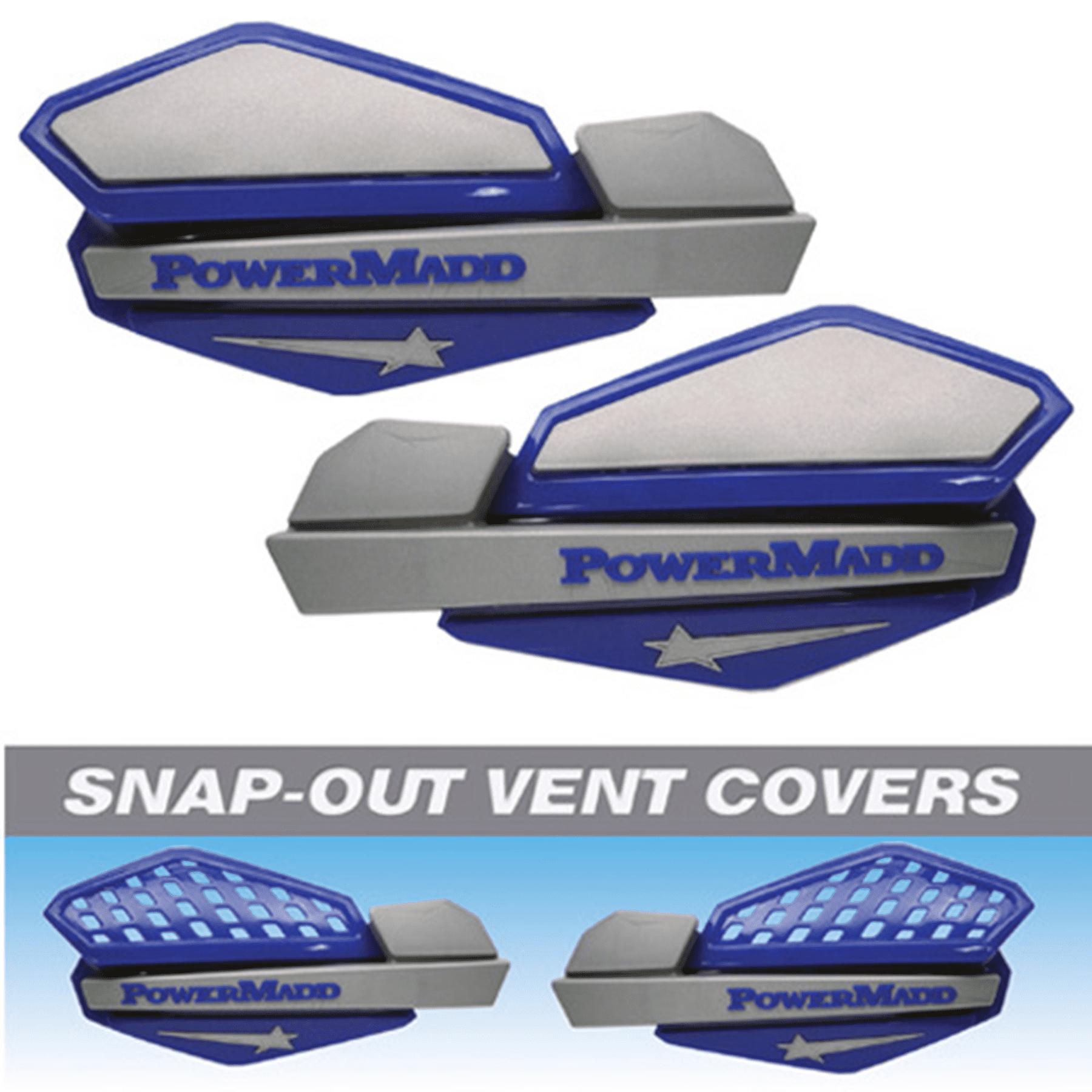POWERMADD STAR HANDGUARD SYSTEM - BLUE/SILVER