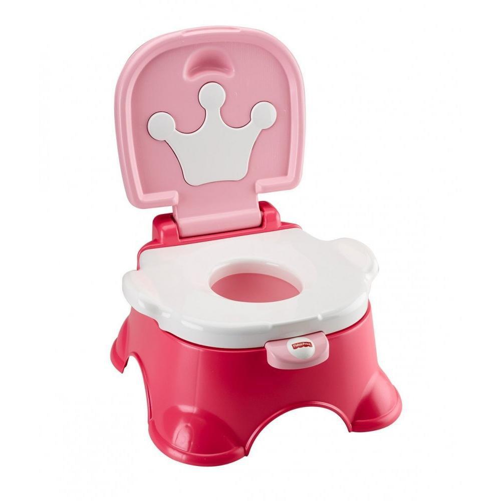 Fisher-Price Pink Princess Stepstool Potty