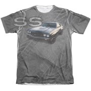 Chevy Muscle Chevelle Ss (Front Back Print) Mens Sublimation Shirt