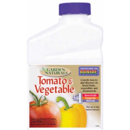 BONIDE PRODUCTS INC Garden Naturals Tomato Vegetable Spray, Qt. Concentrate 6887