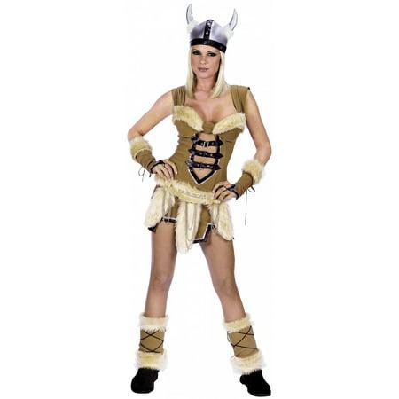 Viking Vixen Adult Costume - Medium/Large - Viking Vixen