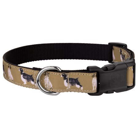 Country Brook Petz™ Deluxe Springer Spaniel Ribbon Dog Collar Limited Edition