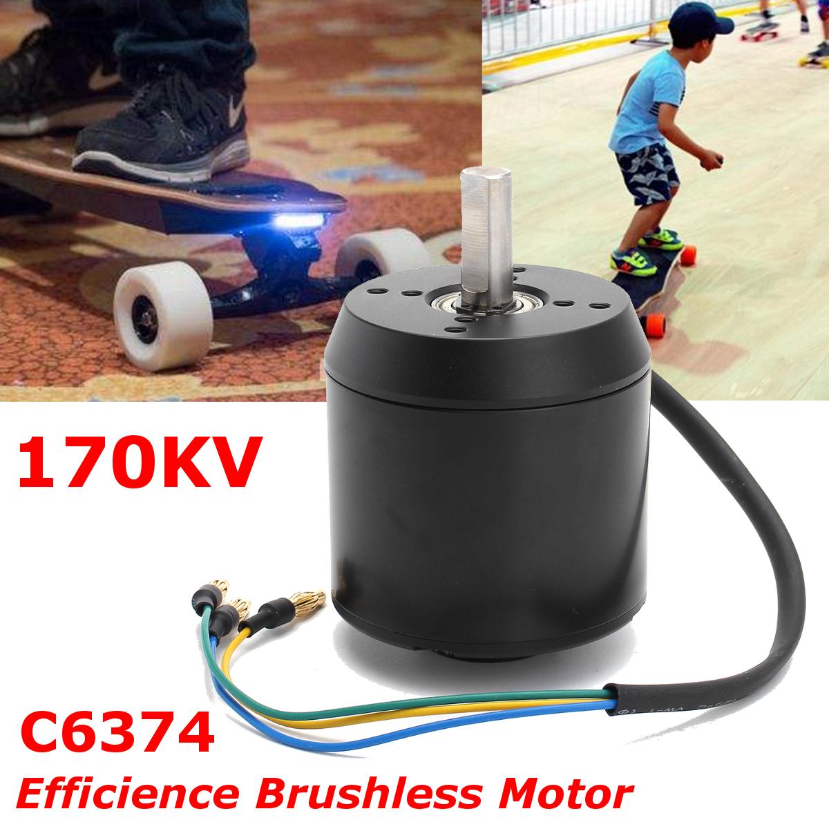 170KV High Efficience Brushless Motor C6374 for Electric Skateboard Longboard