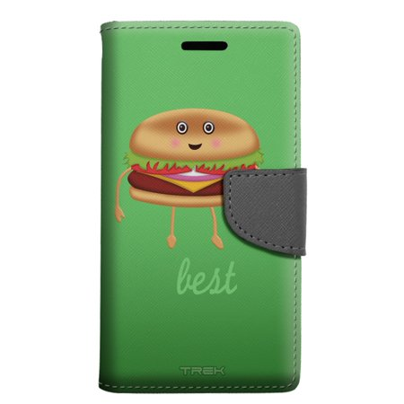 Alcatel Pop 4 Wallet Case - Best Friends Burger and Fries - Burger