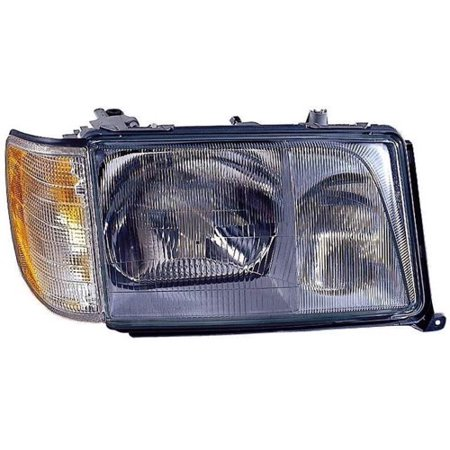 Go-Parts » 1994 - 1995 Mercedes-Benz E320 Front Headlight Headlamp Assembly Front Housing / Lens / Cover - Right (Passenger) Side - (4 Door; Sedan + 2 Door; Coupe) 124 820 90 59 MB2503119)