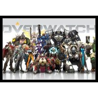 Overwatch Gaming Poster Poster Print