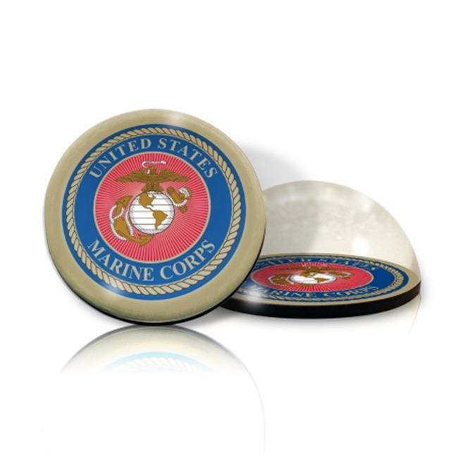 Paragon Innovations Company USMARINEMAG MIL US Marines Crystal Magnet