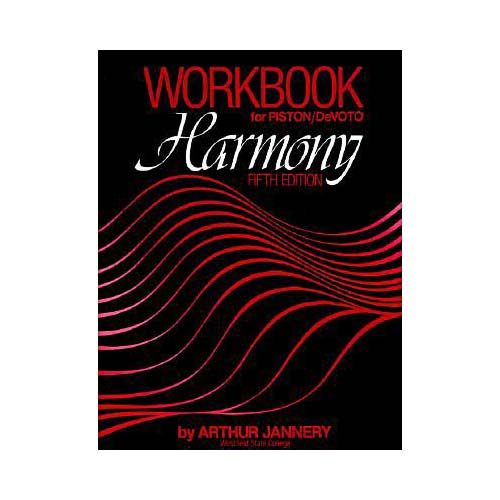 Workbook: For Harmony, Fifth Edition