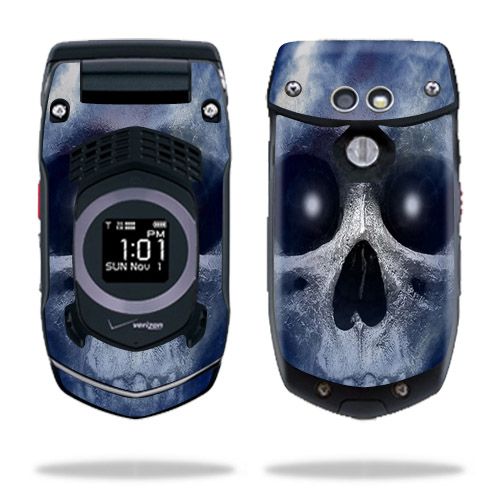Skin Decal Wrap For Casio G U0026 39 Zone Rock C731 Cell Phone Blue Fire - Walmart Com