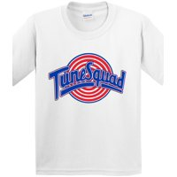 New Way 487 - Youth T-Shirt Tune Squad Space Jam Basketball Team Medium White