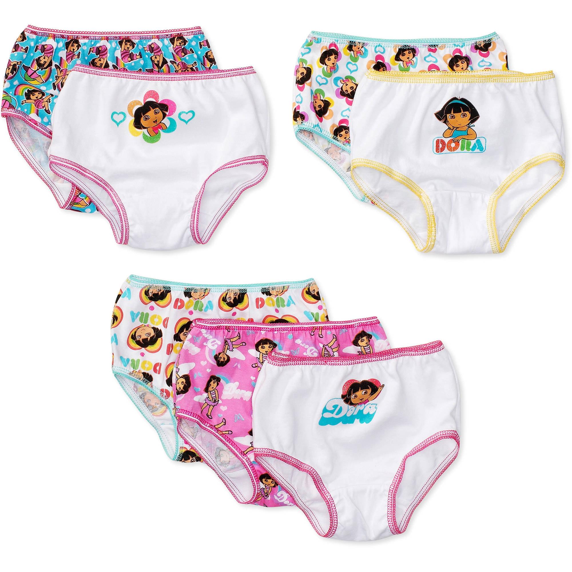 Nickelodeon Toddler Girls' Dora the Explorer Underwear, 7-Pack ...