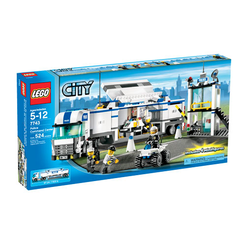 Lego City Police Command Center Set #7743 by LEGO Systems, Inc.