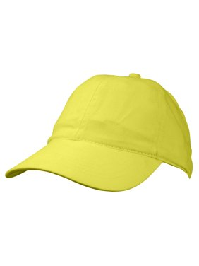 f70868124b5fd Product Image DALIX Ladies Ponytail Cap Half Visor with Adjustable Elastic  Band Minion Yellow