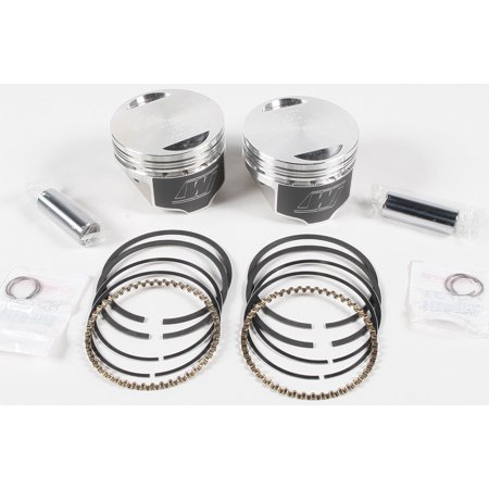 WISECO V-TWIN PISTON KIT 1340 EVO BIG TWIN 8.5:1 COMP ()